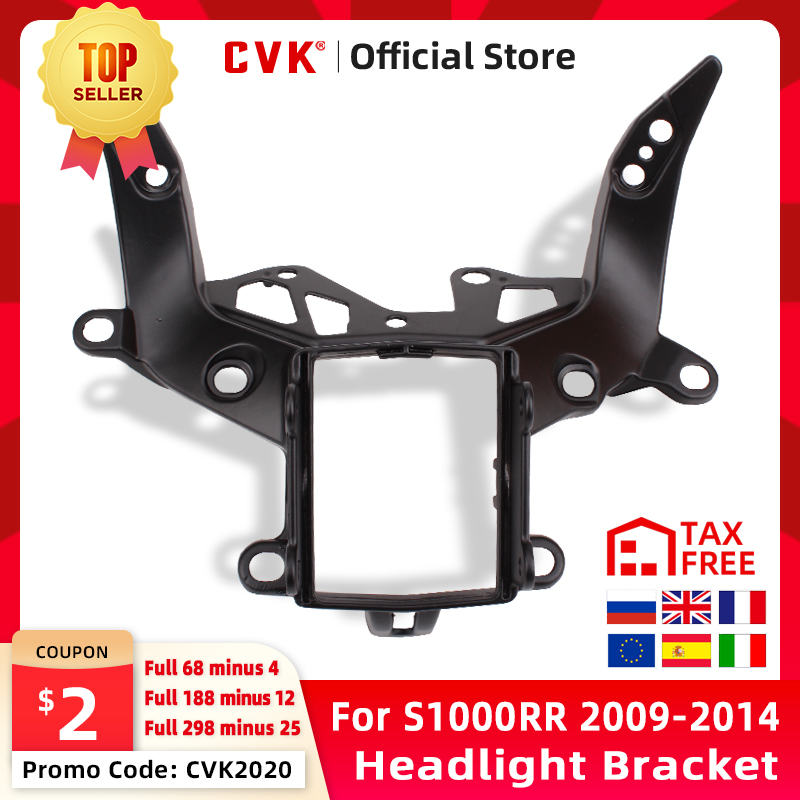 CVK Headlight Bracket Motorcycle Upper Stay Fairing for BMW S1000 S1000R s1000rr S 1000 RR 2011 2012 2013 2014 11 12 13 14 Parts