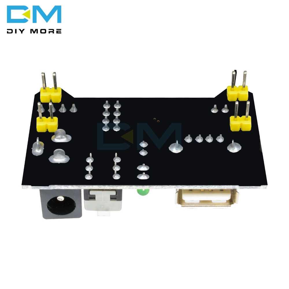 MB102 puissance MB102 platine de prototypage Module d'alimentation 3.3V 5V pour Arduino pain sans soudure bricolage carte électronique PCB