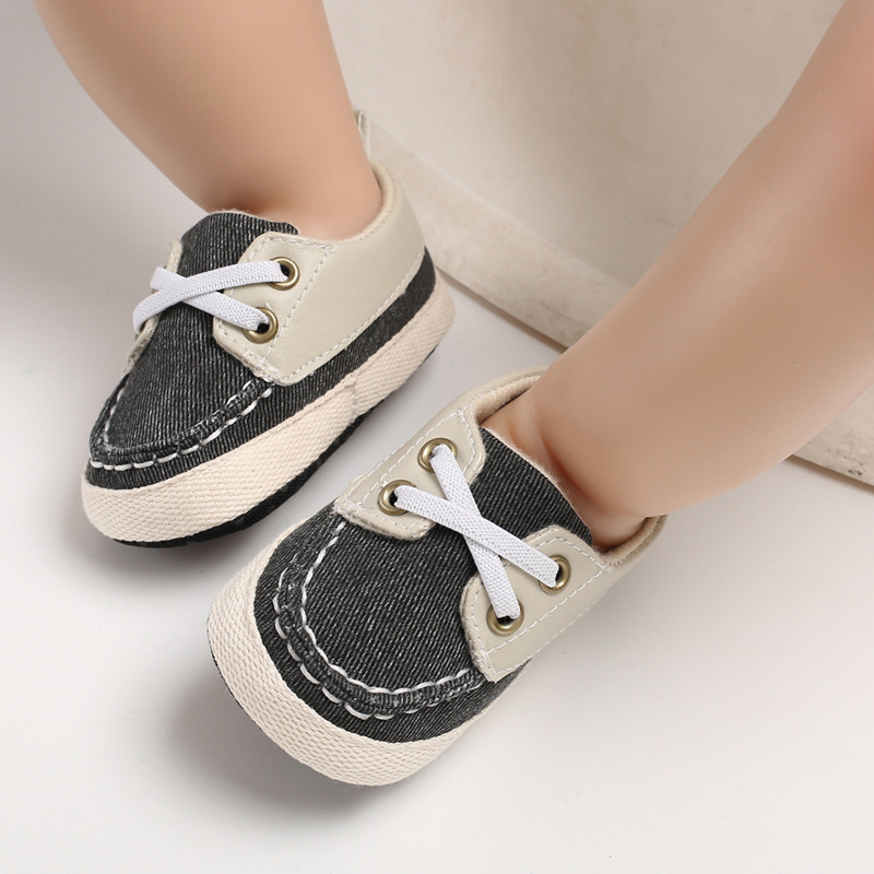 2020 first walkers infant toddler newborn baby boy girl soft sole cotton anti-slip shoes sneaker prewalker patchwork shoes 0-18m