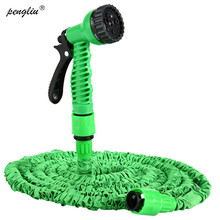 Garden-Hose Spray-Gun-Kit Hoses-To-Watering Wash with 25-150FT Expandable Plastic Magic
