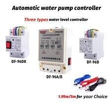 DF-96D/96dk controlador de nível de água automático interruptor 220v tanque sensor de detecção de nível líquido porbe controle do controlador da bomba de água