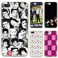 For iPhone 11 Pro 4 4S 5 5S SE 5C 6 6S 7 8 Plus X 10 XR XS Max For iPod Touch ONE DIRECTION 1D Niall Horan Harry Louis Soft Case(China)