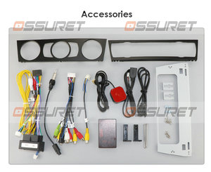 Image 3 - Auto Lettore Multimediale Android 9.0 GPS Sistema Stereo Per BMW E90 E91 E92 E93 4 GWifi FM AM Radio automotivo canbus 1024*600 CAM IN
