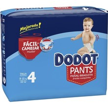 Disposable nappies Dodot 9-15 kg (33 uds) (Refurbished A+)