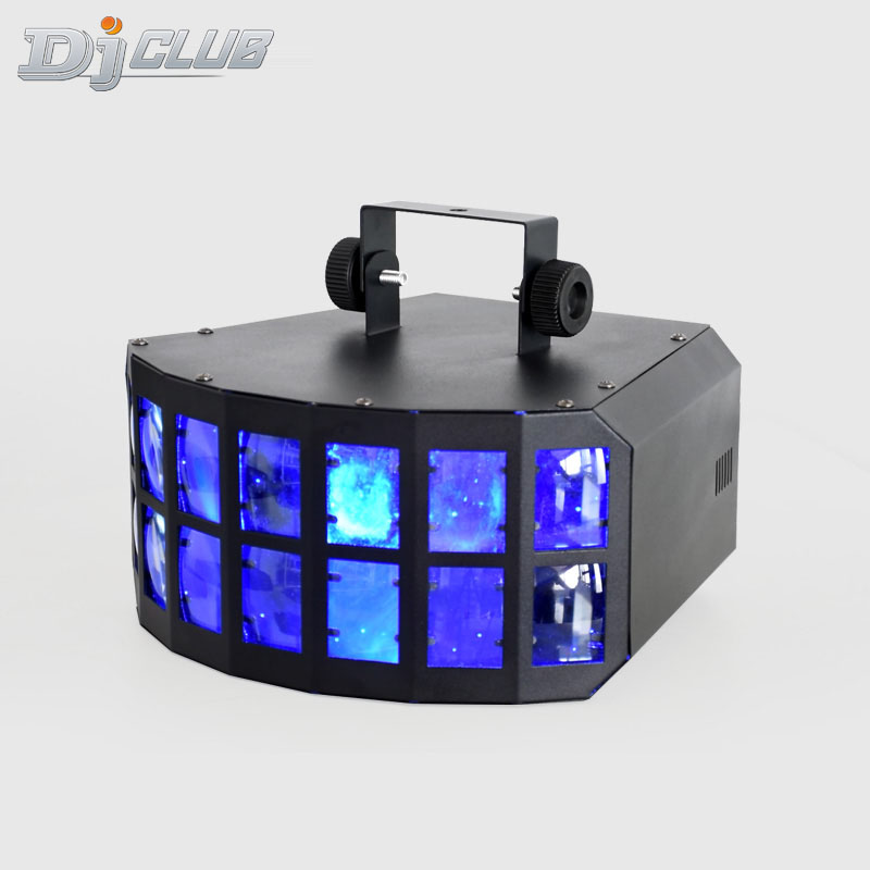 Led Stage Light Effect Disco Lamp Mini LED Colorful Butterfly Lights Stage Light Disco Wedding Bar Stage Effect Strobe Lights
