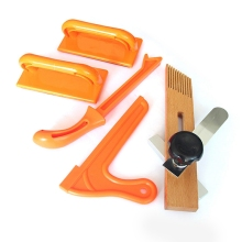 4Pcs Hand Protection Sawdust Wood Saw Push Stick Set For Carpentry Table Woodworking Of Tools
