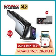 Sameuo U1000Pro Dash Cam 4K Rückansicht WIFI Auto Dashcam Für Auto Kamera UHD 2160P Video Recorder Reverse dvr 24H Parkplatz Monitor