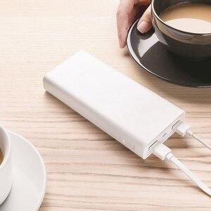 Image 2 - Chính Hãng Xiaomi Power Bank 20000MAh Sạc Di Động Cho iPhone Xiaomi Pin Ngoài Hỗ Trợ Dual USB QC 3.0 Powerbank 20000