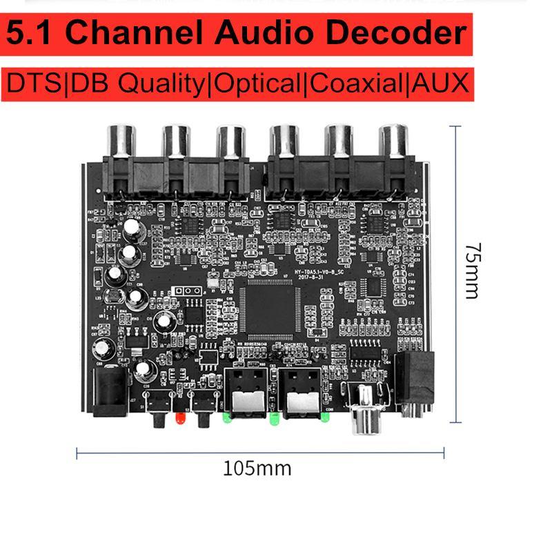 Decoding-Board Dac-Module Decoder-Amplifier Audio Optical-Coaxial Stereo Digital AC-3