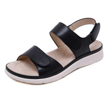 2020 Summer Shoes Women Sandals Holiday Beach Wedges Sandals Women Slippers Soft Comfortable Ladies Summer Slippers A2121 4