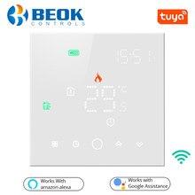 Beok – Thermostat Wifi Tuya Smart Life, pour chauffage électrique/eau au sol, contrôleur de température domestique, fonctionne avec Alexa Google Home