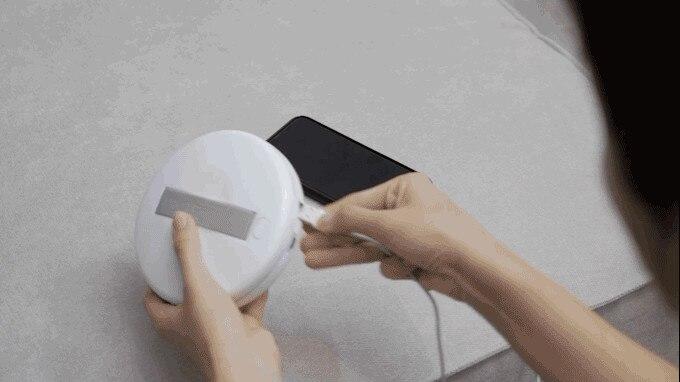 Bacteria Killing Robot CleanseBot World's First Bacteria Killing Robot Household UV Sterilizer Mite Killer Robot For Home Travel (1)