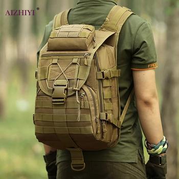 Gran oferta de bolsos de viaje, mochila Molle deportiva de textura delicada, mochila de escalada de 40L, mochila de viaje de gran capacidad de nailon