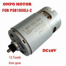 PSB1800 LI 2 silnik prądu stałego 18V 13 zęby 1607022606 HC683LG do wymiany BOSCH 3603JA3302 wiertarka elektryczna wkrętarka akcesoria