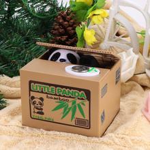 Venda quente eletrônico automatizado gato roubar banco de moedas 1 pçs mealheiro moneybox caixa de poupança de dinheiro presentes digital coin jar decoração da sua casa
