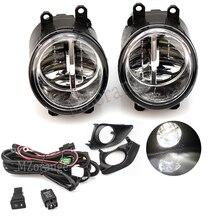 Fog Lamp Assembly Fog Light for TOYOTA AVENSIS AURIS RAV 4 III CAMRY for Corolla PRIUS YARIS 2003-2015 LED Fog Light цена 2017