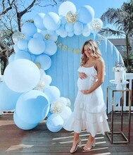Riesen Blau Macaron Latex Ballons 5/10/18/24/36 zoll Jumbo Helium Ballon Für Partei globos Hochzeit Geburtstag Dekoration