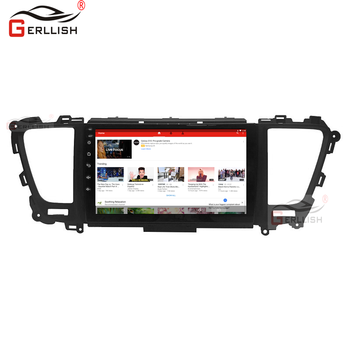 4G + 64G IPs Android Multimedia Player car radio stereo audio for Kia Sedona Carnival 2014-2019 GPS navigation image