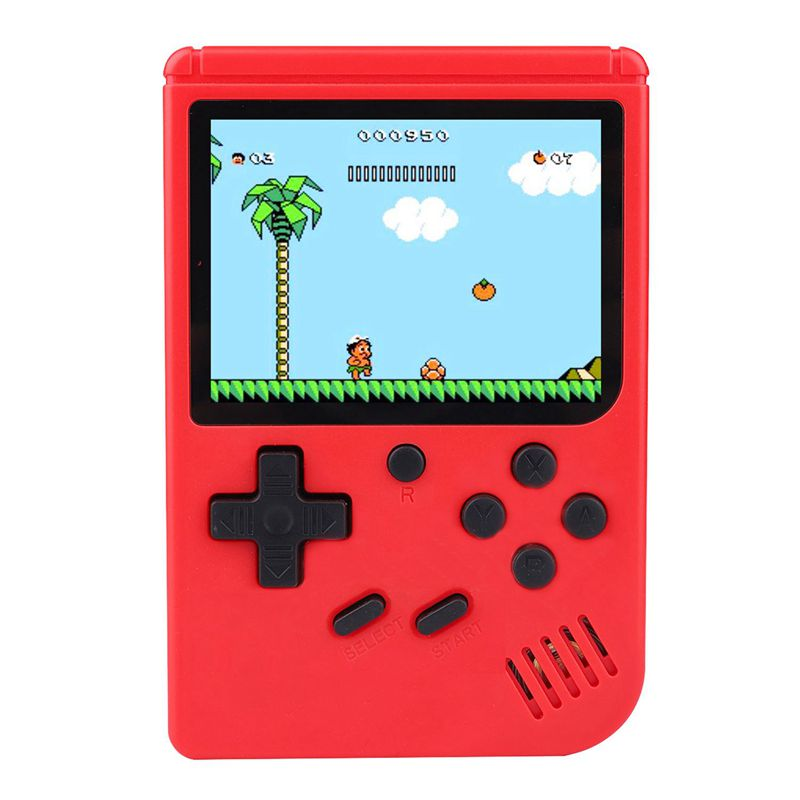 Games MINI Portable Retro Video Console Handheld Game Advance Players Game Boy 3.0 Inch Color LCD Screen Red image