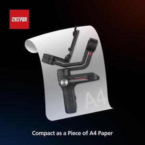 Image 4 - ZHIYUN Offizielle Weebill S Handheld Gimbal 3 Achse Bild Übertragung Stabilisator für Spiegellose Kamera OLED Display Neue Ankunft