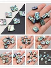 5Pcs New Style Wholesale Irregular Abalone Beads With Hole Loose Beads For DIY Jewelry Making Bracelet Earring Ring Accessory