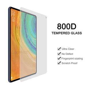 LECAYEE 800D Ultra Clear Tempered Glass for Huawei MatePad Pro LTE/WIFI Huawei 10.8 Tablet Scratch Proof Screen Protector(China)