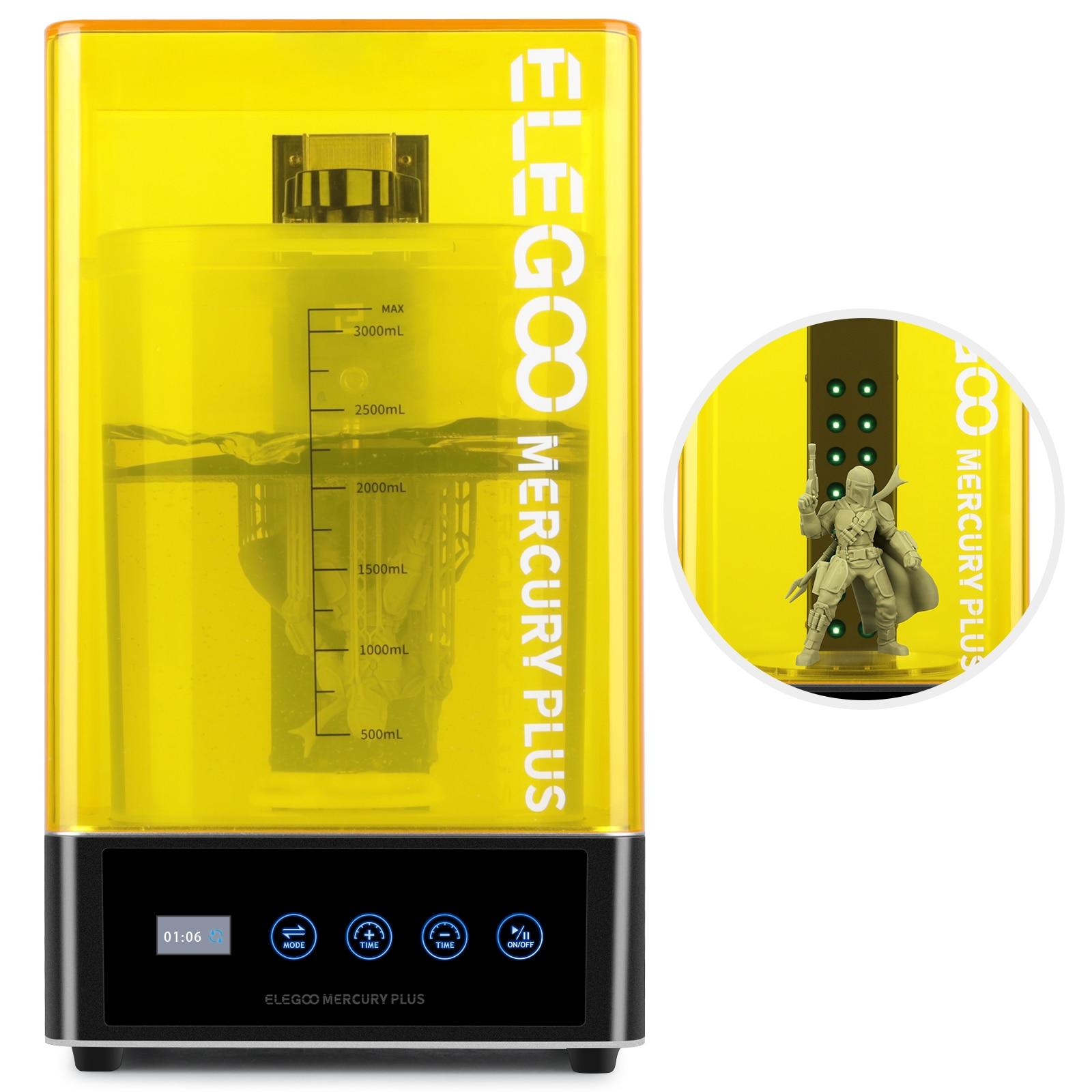 ELEGOO мойка и высушивание для смолы 3D принтер 3D печать моделей мойка отверждение 2 в 1 машина для Impresora 3D LCD/SLA/DLP принтер