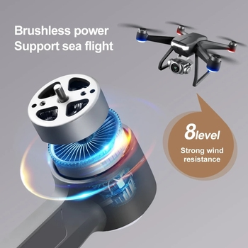 New F11 Pro Rc Quadcopter 8K HD Professional Camera 5G WIFI FPV Drone Image Transport Brushless Motor Foldable GPS Dron 3