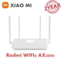 Xiaomi Redmi Router AX3000 sostituisci AX6 AX5 WiFi 6 2.4G /5G rete a rete a doppia frequenza ripetitore Wifi 4 antenne extender di segnale