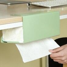 Туалетный держатель кухонной бумаги бумага для органайзера держатель для полотенец шкаф подвесная коробка из ткани шкаф подвесные вешалки бумажная Полка для полотенец
