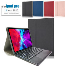 CARPRIE-funda para Teclado para iPad Pro, 11 pulgadas, 2020/2018, soporte para carga de lápiz Apple, Teclado de mesa, envío gratis