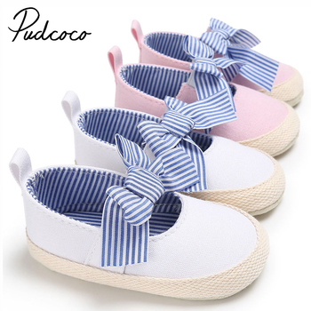 цены Toddler Infant First Walkers Newborn Baby Girl Bowknot Crib Shoes Prewalker Non-slip Kids Soft Sole Lovely Shoes