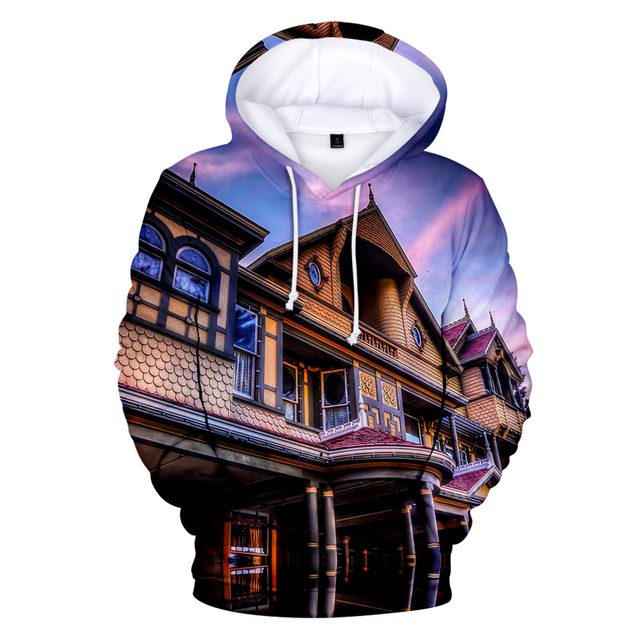THE HYPE HOUSE THEMED 3D HOODIE (9 VARIAN)