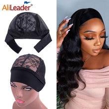 Alileader лучший парик с головной повязкой Кепки для изготовления