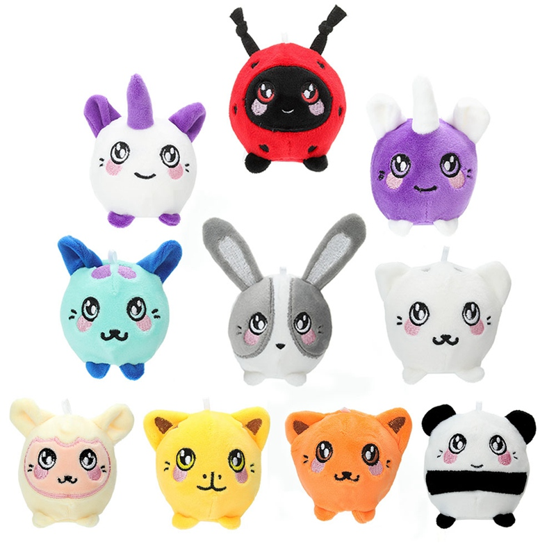 7cm Plush Squishy Slow Rising Foamed Stuffed Animal Squeeze Toys Soft Cute Squishies PU Stress Relief Child Toy