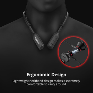 Image 5 - [Чип Qualcomm] обновленные беспроводные наушники Tronsmart S2 Plus Bluetooth 5,0, голосовое управление, глубокие басы, cVc 6,0, 24 часа воспроизведения