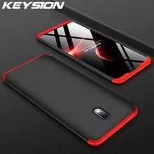 KEYSION 3 en 1 étui pour rouge mi Note 8 Pro 8 8A 7A 7 antichoc dur téléphone couverture arrière pour Xiao mi mi 9T 9T Pro mi 9 SE Lite 8 A3