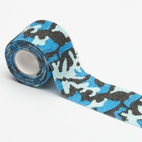 New 5CM x 4.5M Camouflage Camo Elastoplast Adhesive Bandage Wrap Stretch Self Adherent Tape for Wrist Ankle Slices Sports Safety
