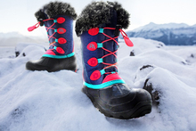 Buy Kids Snow Boots 100% Waterproof and Insulated for Girls and Boys Outdoor Rubber Sole Snow Boots Winter Kids shoes directly from merchant!
