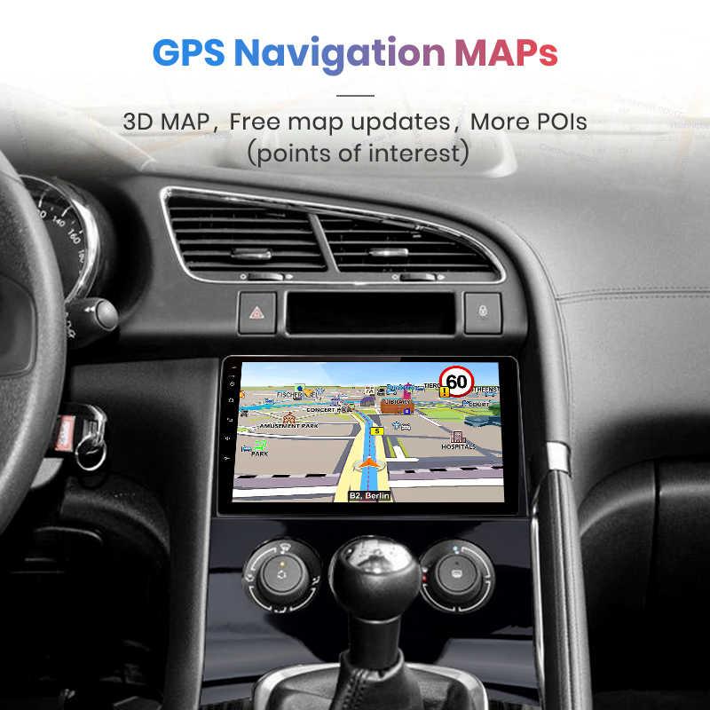 Junsun V1 2G + 32G Android 9,0 para Peugeot 3008 Peugeot 2009-2013 auto Radio Multimedia reproductor de Video GPS de navegación 2 din dvd