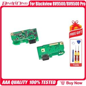 Image 2 - 100% новинка, оригинальная плата с зарядным портом USB, разъем usb для Blackview BV9500/ BV9500 Pro, запчасти для ремонта, запасные аксессуары