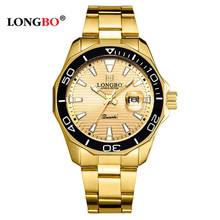 LONGBO NEW Men's Watches Top Brand Luxury Watch Men Sports Quartz Watches Waterproof Male Clock Relogio Masculino reloj hombre