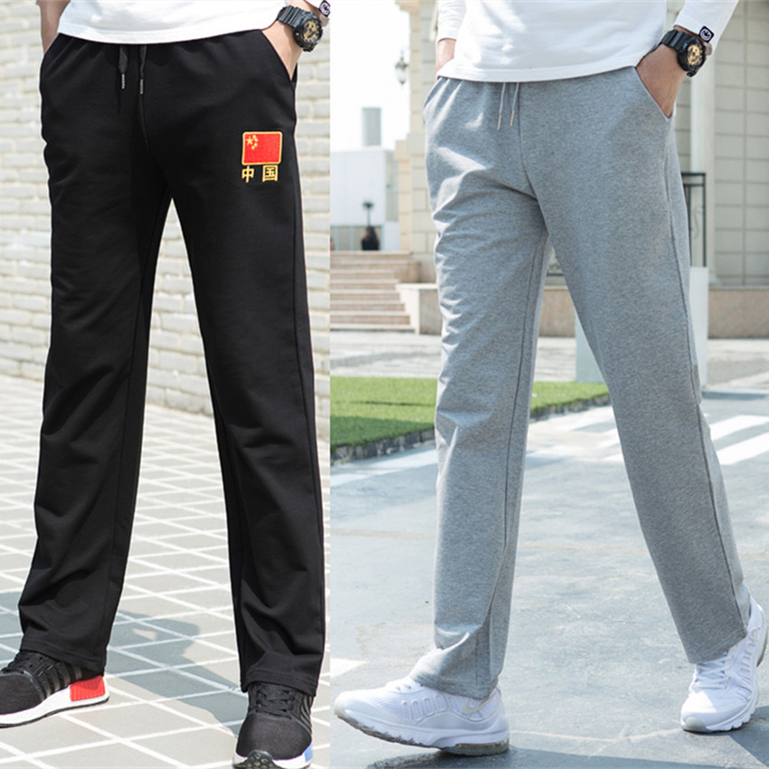 Army Fans Special Forces Embroidered National Flag Autumn And Winter Hot Selling MEN'S Casual Pants Men Pure Cotton Gymnastic Pa