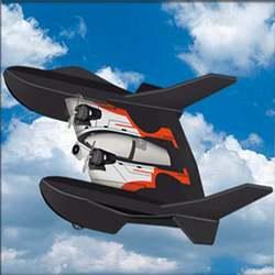 FX815 Sea Land Air 3 w 1 szybowiec Hydro foam RC samolot zdalnie sterowana łódka RC RC Car 2.4G pilot Cool look dzieci zabawki w Samoloty RC od Zabawki i hobby na