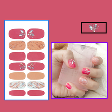 Diamond Nail Sticker Professional Nail Sticker Set Nail Sticker Imitation Diamond Color Diamond 3D Nail Polish Film Bronzing