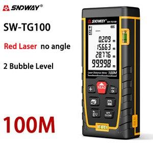 Image 4 - Sndway electronic roulette laser rangefinder 40m 50m 70m 100m 120m laser distance meter digital trena lazer measure range finder