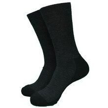 1 пара шерстяных черных немецких теплых плотных мужских носков большого размера