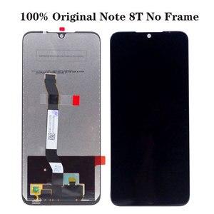 Image 2 - ЖК дисплей для Xiaomi Redmi Note 8 8T 8 Pro, экран 6,3 дюйма + сенсорный дигитайзер в сборе, ЖК дисплей для Redmi Note 8 8T 8 Pro