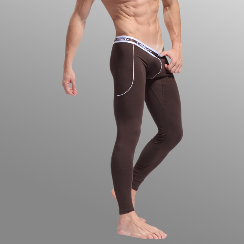 New Thermal Underwear Pants Winter Wear Long Johns Trousers Leggings Warm Sleep Thermos Bottoms Pant Warm Comfortable
