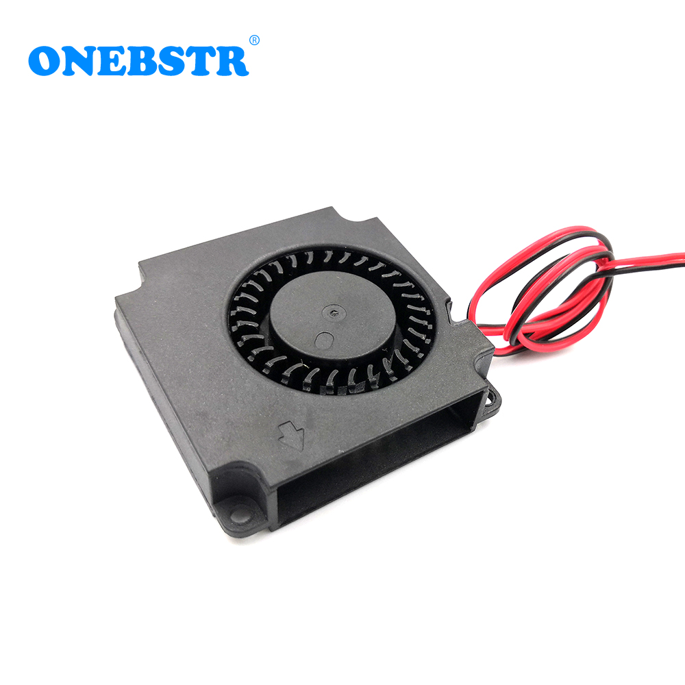 4010 Blower Brushless Turbo Fan 5V 12V 24V 40x40x10mm Turbine Fans For CR-10 3D Printer Parts Radial Cooling Fan Free Shipping